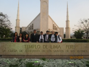 The Lima Temple!